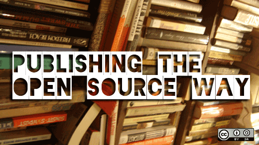 Self publishing - Image by opensourceway