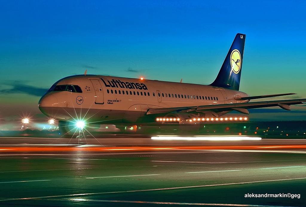 Lufthansa - Aleksander Markin