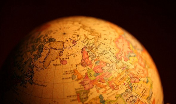 World Globe - By PhotoGraham