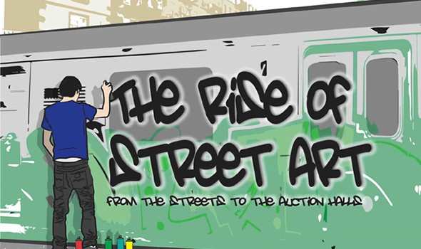 The Rise of Street Art [Infographic]