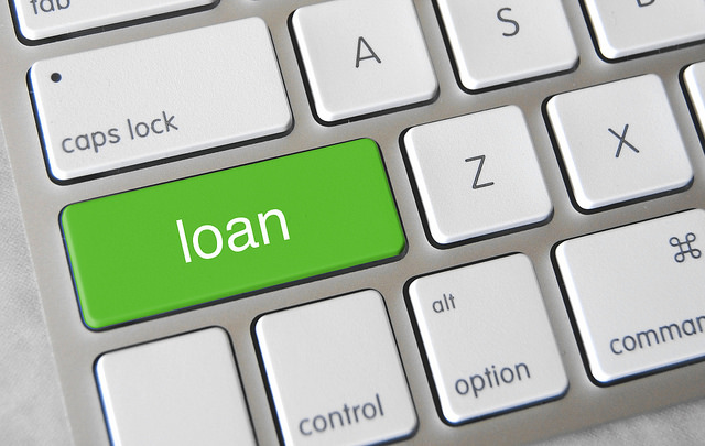 5 Ways To Fund Your Small Business In 2015 - Loan Key On Keyboard