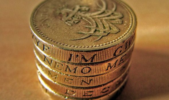 Three Top Tips For Managing Your Money - Pile Of Pound Sterling Coins