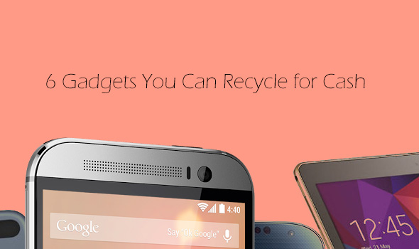 6 Gadgets You Can Recycle for Cash