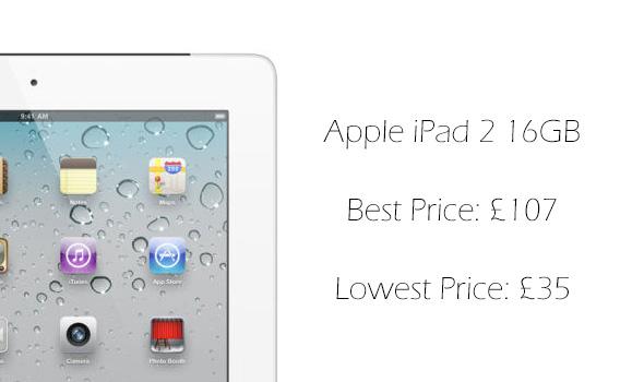 Apple iPad 2 16GB Wi-Fi + 3G Tablet PC