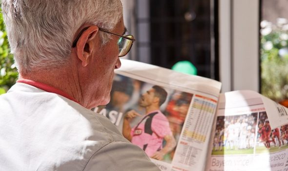 Is A SIPP Right For You? How To Make An Informed Decision? Elderly Man Reading The News Paper