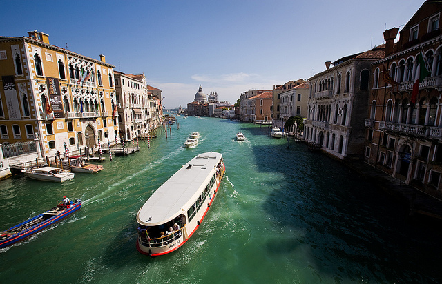 The Benefits Of Using AirBNB - Vaporetto Venice Italy - Image By Jack Seeds