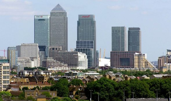 How UK Businesses Are Adapting To Brexit - London Skyline, Canary Wharf