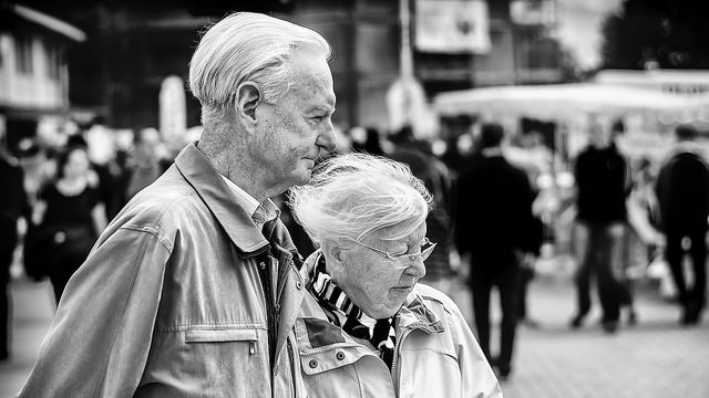 Help With Winter Fuel Costs - Elderly Couple By Mister G. C.