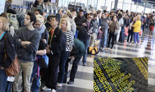 Nearly Half A Million Flights Delayed This Summer