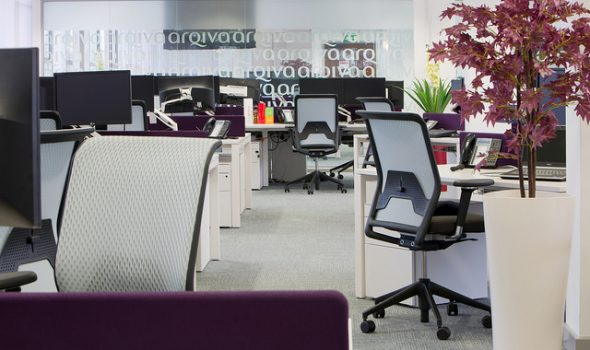 Should You Upscale Your Business Or Improve On What You've Got? - Open Plan Office - Image From Flickr - By Arqiva_32 (K2 Space)